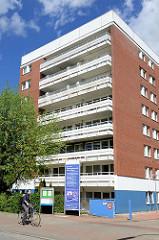 Gebäude der Ev. Luth. Diakonissenanstalt Alten Eichen in Hamburg Stellingen.