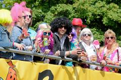 Schlagermove / Discomove in Hamburg Harburg - Disco-Kultur der 70er und 80er Jahre.