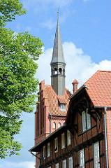 Rathaus in Dömitz - Turm.