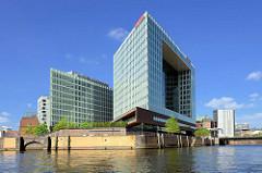 Spiegel-Haus an der Ericusspitze in der Hamburger Hafencity - Entwurf Architektenbüro Henning Larsen.