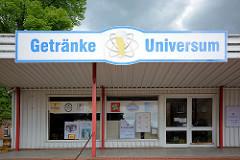 Flachbau - Getränkeverkauf, das Getränke Universum von Dömitz.