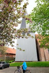 Borsteler Kirche - St. Nikolai Kirche in der Gemeinde Jork, Landkreis Stade.