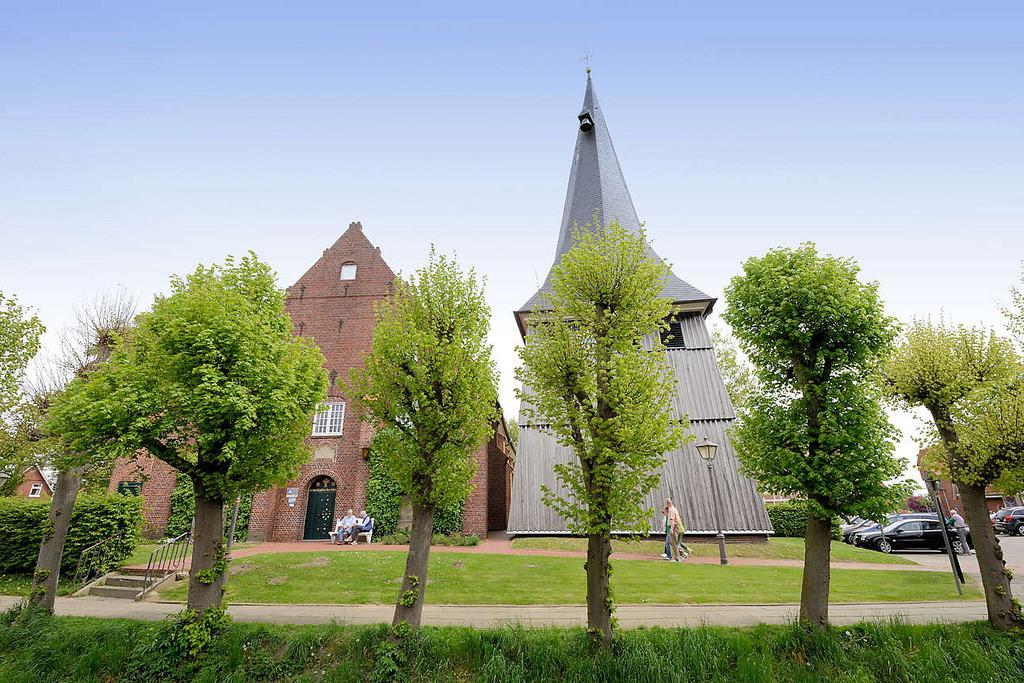 "Metropolregion Hamburg: Foto ""Borsteler Kirche - St"