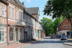 Historische Architektur in der Torstrasse von Dömitz.