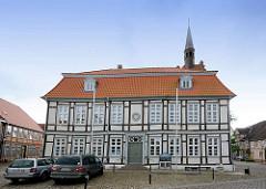 Rathaus von Dömitz, Fachwerkbau von 1820.