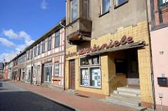 Lichtspiele in Dömitz - ehem. Kino in der Torstrasse, eröffnet 1920 als Köhns Gesellschaftshaus.