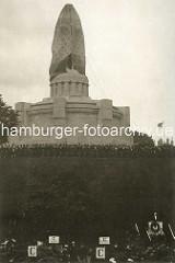 Enthüllung des Bismarckdenkmals in der Hansestadt Hamburg 1906.