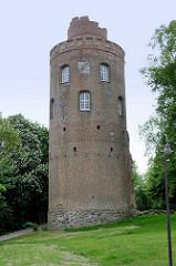 Amtsturm Lüchow - Überreste des 1811 abgebrannten Schloss Lüchow.