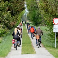 Fahrradtour zur Kulturellen Landpartie im Wendland / Luckau.