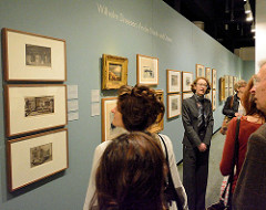 Eröffnung der 6. Triennale der Photographie in Hamburg - Altonaer Museum.