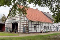 Fachwerkhaus in Dickfeitzen / Wendland.