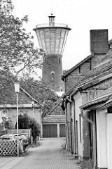 Wasserturm von Lüchow, 1957 umgebaut.