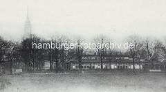 Elbhöhe, alter Elbpark - Gastätte Elbpavillon an der Stelle, an der das Bismark-Denkmal 1906 errichtet wurde.