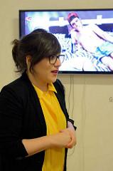 Eröffnung der 6. Triennale der Photographie in Hamburg - Laia Abril, Museum für Kunst und Gewerbe.