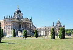 Communs / Neues Palais in Potsdam, erbaut 1769; Wirtschaftsgebäude.