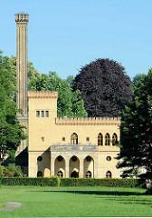 Meierei im Neuen Garten von Potsdam, Baumeister Carl Gotthard Langhans, fertiggestellt 1792.