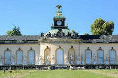 Gebäude Bildergalerie im Park des Schlosses Sanssouci in Potsdam; erbaut unter Friedrich II. (der Große) in den Jahren 1755–1764.