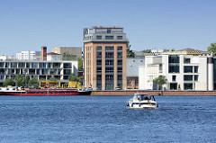 Ehem. Industriegebiet und Garnison bei der Schiffbauergasse am Potsdamer Havelufer / Tiefer See.