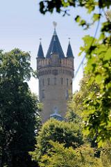 Aussichtskuppel vom Flatowturm im Park Babelsberg / Potsdam. Seit 1990 gehört der Park Babelsberg als Teil der Schlösser und Parks von Potsdam und Berlin zu Liste des UNESCO Welterbe.