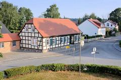 Blick in die Kyritzer Strasse von Wusterhausen.