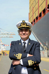 Kapitän der MSC Zoe, Domenico Pica.