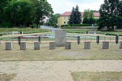 Sowjetischer Ehrenfriedhof in Zehdenick.
