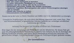 Ausschnitt Parkordnung für den Park Babelsberg in Potsdam - Stiftung Preussischer Schlösser und Gärten Berlin-Brandenburg. .... Foto-, Film, und Fernsehaufnahmen zu gewerblichen Zwecken bedürfen der vorherigen schriftlichen Zustimmung der Stiftung...