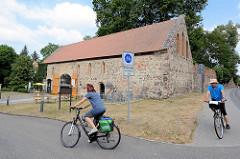 Klosterscheune in Zehdenick - Ursprungsbau 14. Jhd., jetzt Kultur und Veranstaltungszentrum.