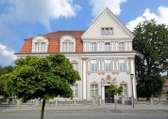 Amtsgericht von Zehdenick - errichtet 1911 im neobarocken Baustil.