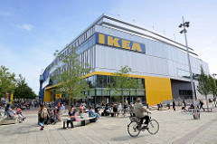 Grosse Bergstrasse in Hamburg Altona / Altstadt - Einrichtunghaus IKEA.