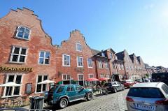 Holländisches Viertel in Potsdam;   das Holländische Viertel wurde zwischen 1733 und 1742 im Zuge der zweiten Stadterweiterung unter Leitung des holländischen Baumeisters Johann Boumann erbaut.