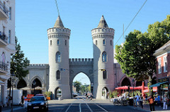 Nauener Tor in Potsdam - erbaut 1755, gilt als erster Bau neugotischer Stil auf dem europäischen Kontinent.