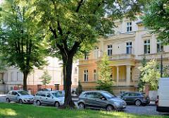 Villen in der Hebbelstrasse von Potsdam - Bilder der Potsdamer Architektur.