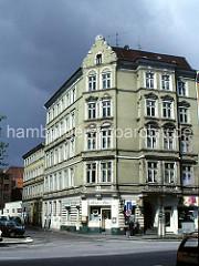 Gründerzeitgebäude in der Speckstrasse - Hamburger Neustadt - 1976.