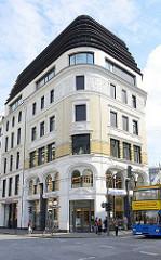 Historisches Gebäude in der Hamburger Altstadt - Johannis Contor an der Grossen Johannisstrasse / Börsenbrücke.