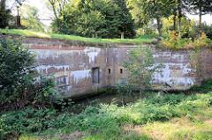Festungsmauer der Festung Grauerort.