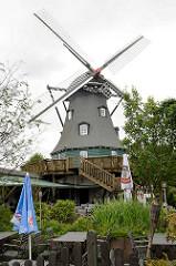 Schönningstedter Mühle, erbaut 1886 - jetzt Restaurant.