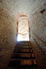 Kasematten der Festung Grauerort, Treppenaufgang.
