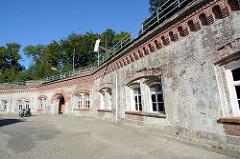Kasematten der Festung Grauerort.