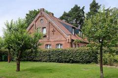Nebengebäude beim Reinbeker Schloss - Wohngebäude, Klinkerhaus.