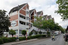 Geschäftszentrum, Klostermarkt - Wohnungen an der Bergstrasse in Reinbek, Kreis Stormarn.