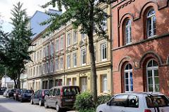 Gründerzeitwohnblocks, Hütten - Neustadt Hansestadt Hamburg.