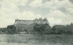 Vierländer Bauernkate / Milchschänke im Hamburger Stadtpark.