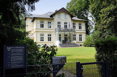 Arthur Goldschmidt Haus in der Kückalle in Reinbek. erbaut 1909, Architekt H. Louis.