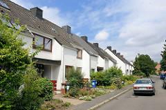 Reihenhäuser; Reinbek, Kreis Stormarn.