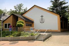 Kirchengebäude der Neuapostolischen Kirche in Reinbek; Jahnstrasse.