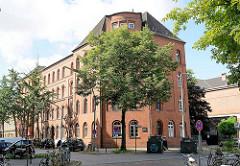 Ehem. Polizeigefängnis Hütten in der Hamburger Neustadt.