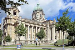 Gebäude Hanseatisches Oberlandesgericht, Stadtteil Hamburg Neustadt / Sievekingplatz; erbaut 1912 - Architekten Lundt & Kallmorgen.
