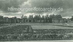 Heckengarten im Hamburger Stadtpark.