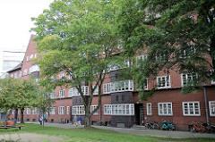 Ehem. Gängeviertel in der Hamurger Neustadt, Kornträgergang  - Wohnsiedlung, erbaut 1933 - 1937.